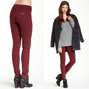 Joe's Jeans Skinny Visionaire Jeans - Ruby Red